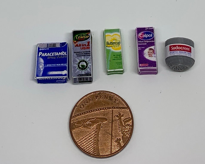 medication set of 5