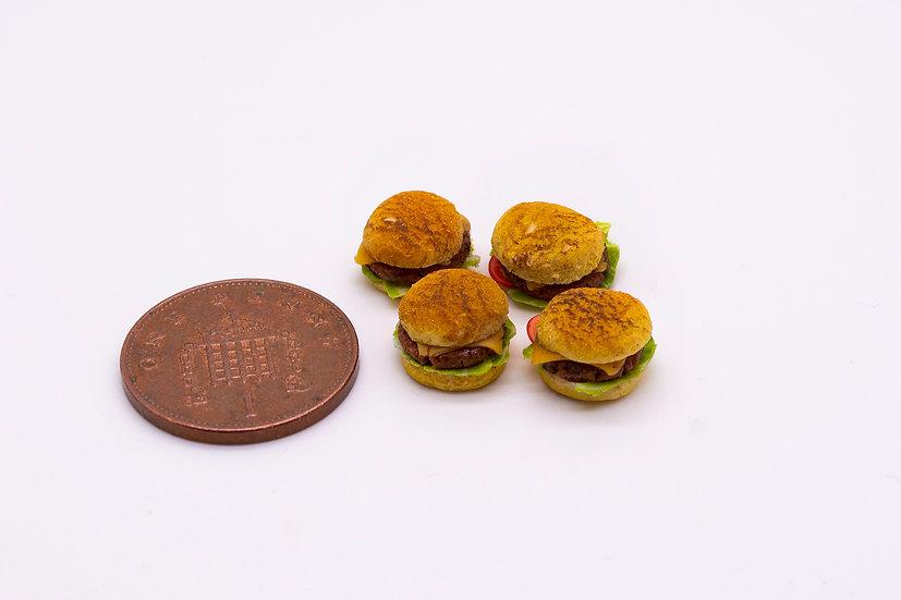 4 x cheeseburgers