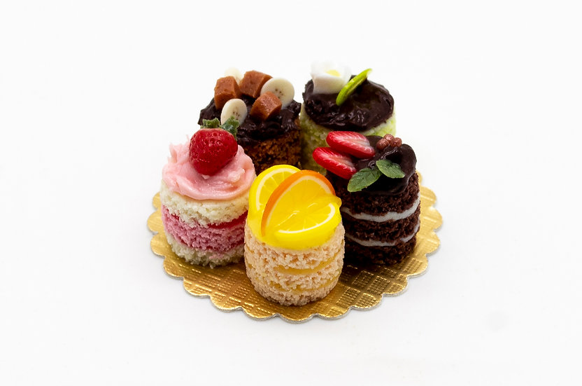 5 x desserts sweets