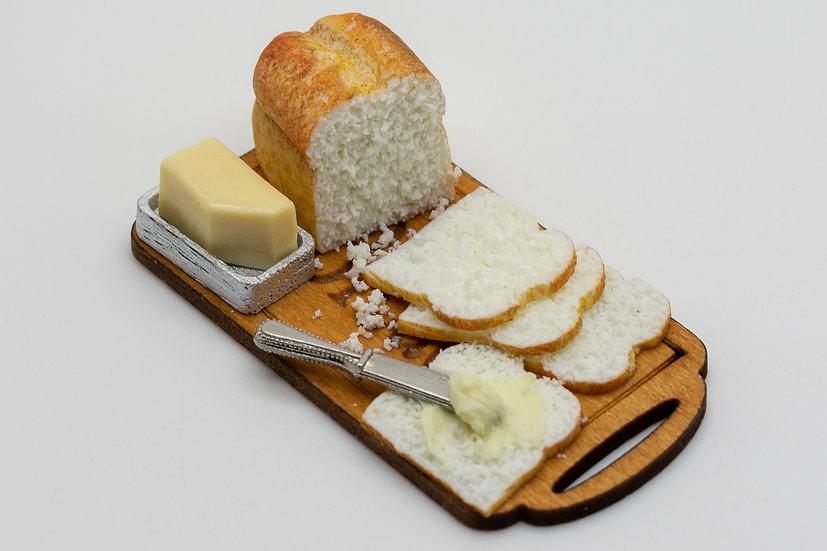 white bread & butter board
