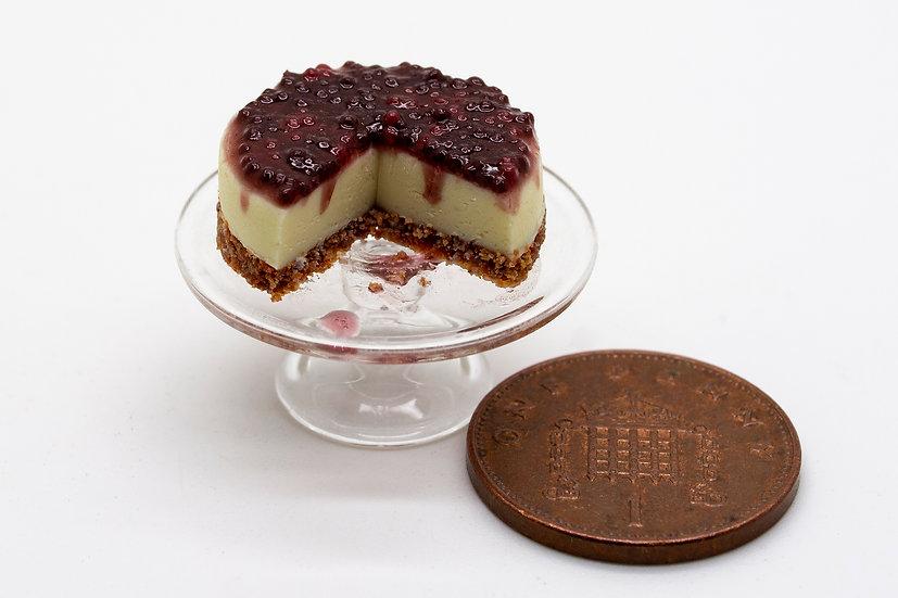 blackcurrant cheese cake
