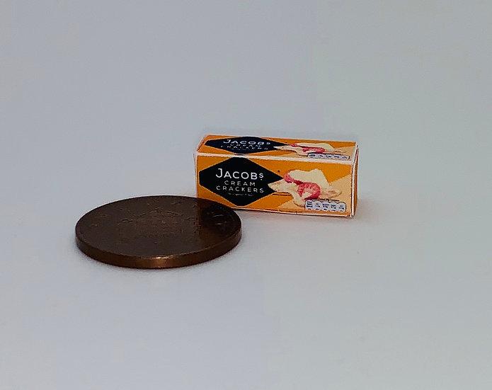 empty crackers box