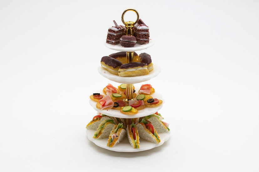 4 teir afternoon tea stand