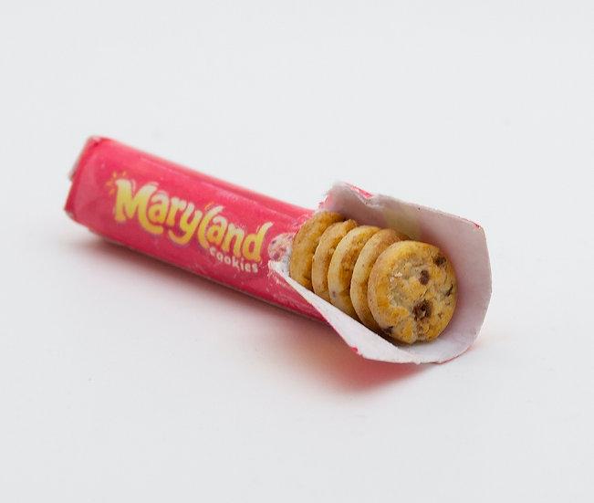 open pack of cookies