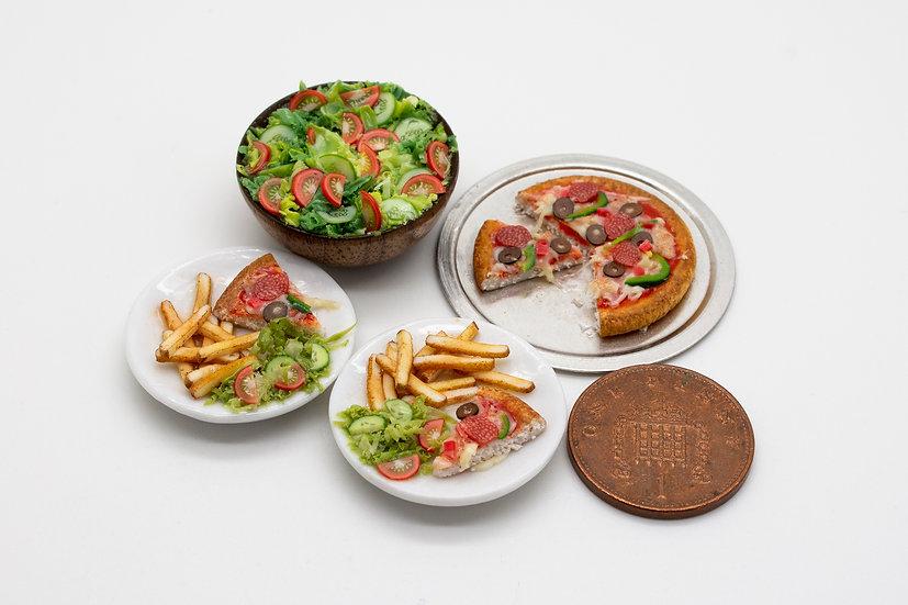 pizza meat set
