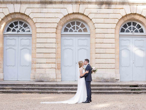 Mariage à l' Abbaye de la ferté, bourgogne