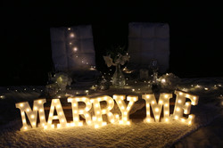 Marry Me Marquee Lights Rental