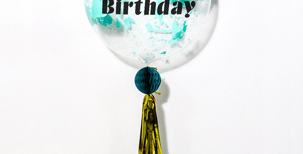 24 Inch Personalized Splash! Whimsical Balloon