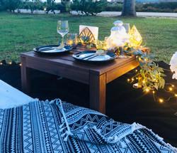 Premium Darkwood Table for 2