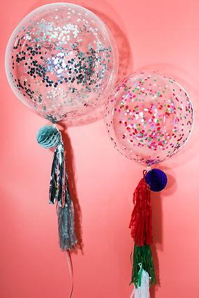 Round Confetti Balloons