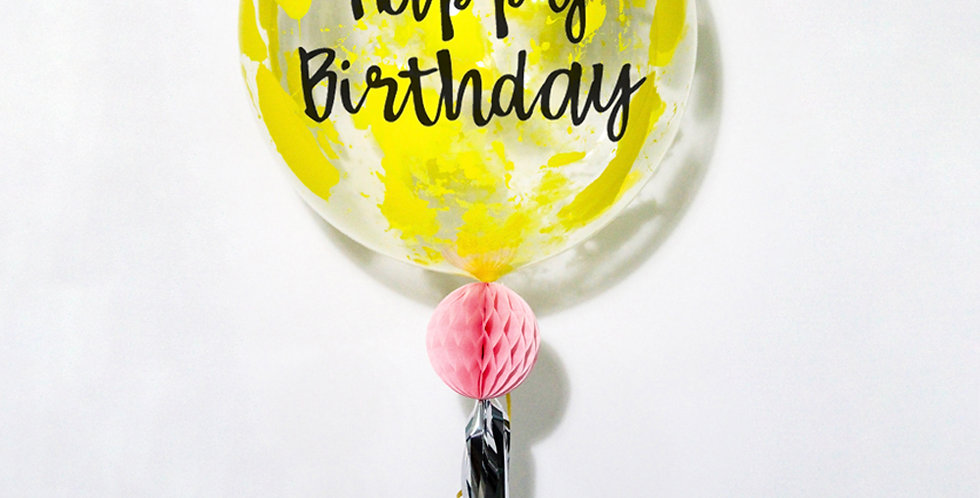 20 Inch Personalized Splash! Whimsical Balloon