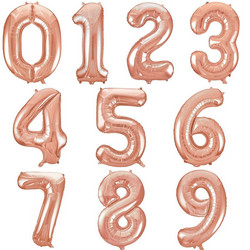 "16"" Letter/Number Foil Balloon"