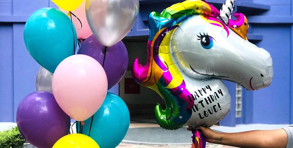 Unicorn Sprinkles Balloon Set