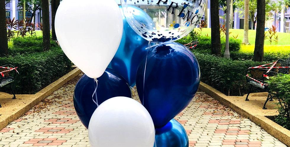 20 Inch Confetti Balloon Bouquet
