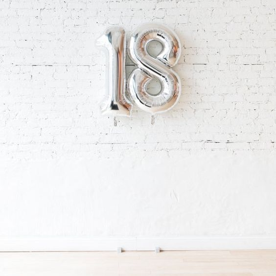 40 Inch Foil Number Balloon