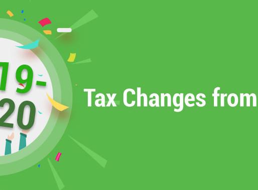 2019-20 Self-Employed Allowance & Tax