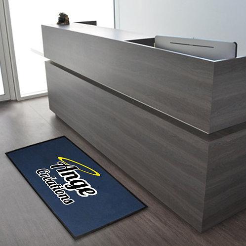Tapis d'accueil avec logo incrusté 80x60 cm