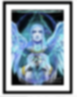 Framed print Archangel Michael .png
