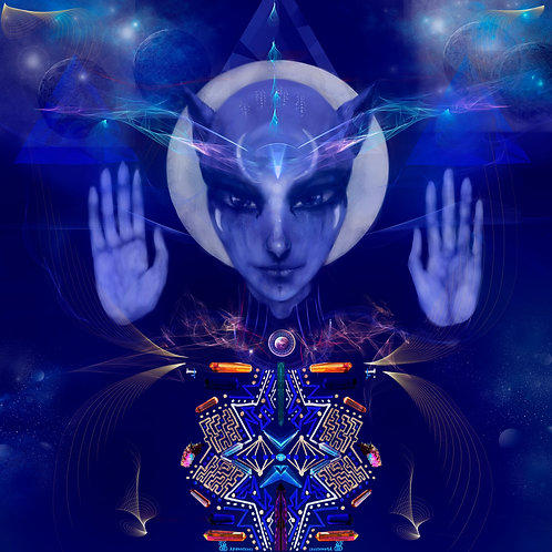 Art Print - Sirian light Blessing