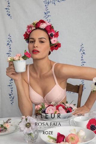 Serie Fleur in Roze