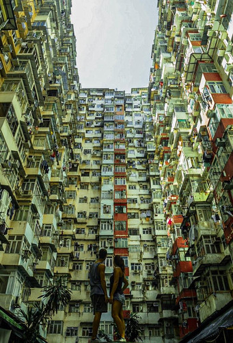 Monster building - Hong Kong