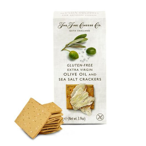 Extra Virgin Olive Oil and Sea Salt Crackers For Cheese