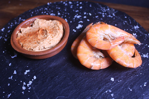 Pâté and Prawns