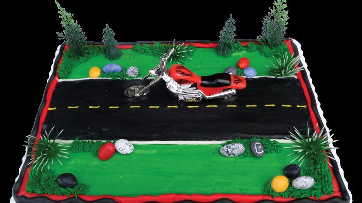 Motorcycle Scene