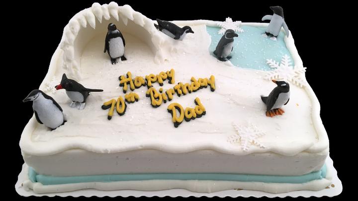 Penguins Scene