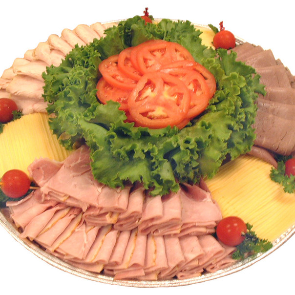 Sliced Meat & Cheese Tray