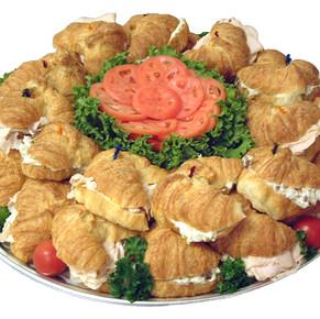 Mini Croissant Sandwich Tray