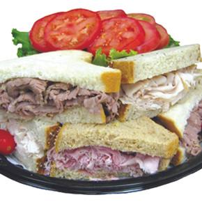 Half Sandwich Tray