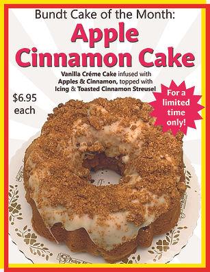 09 Bundt Cake of Month Apple Cinnamon Ca