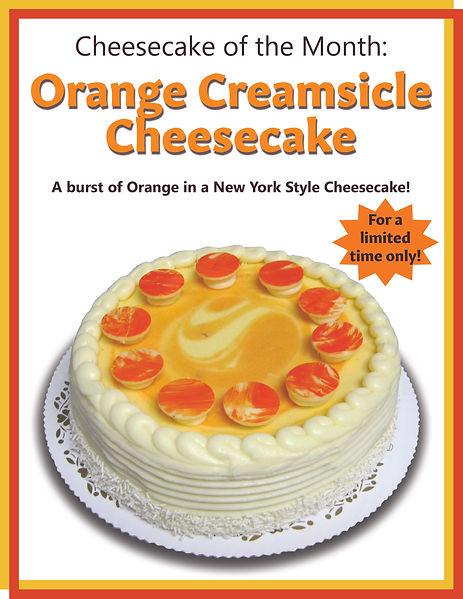 05 Orange Creamsicle Cheesecake of the M
