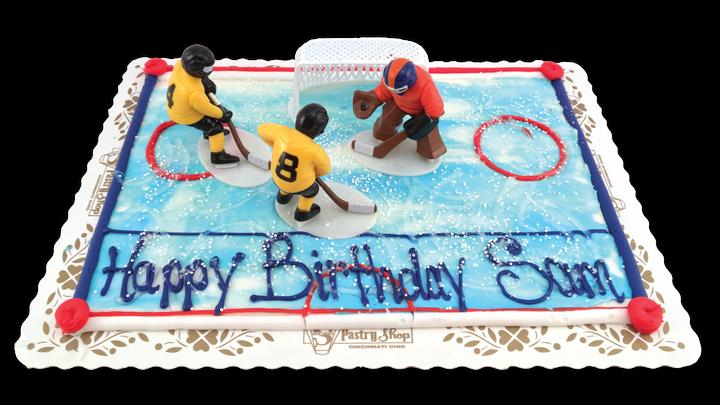 Hockey Scene