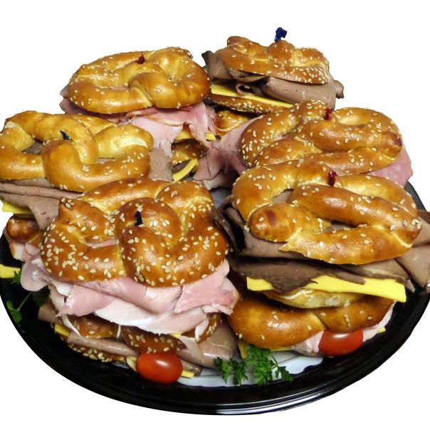 Mini Preztel Sandwich Tray