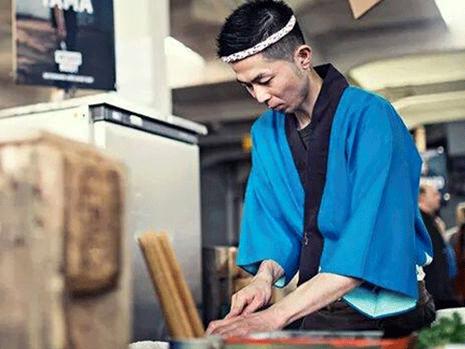 Yama: 'Ik ben veel meer dan een Sushi chef' by De Buik van Rotterdam