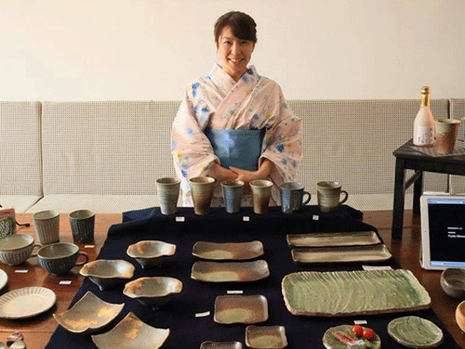 Exhibition 'pottery in everyday life' by Azusa Matsuo