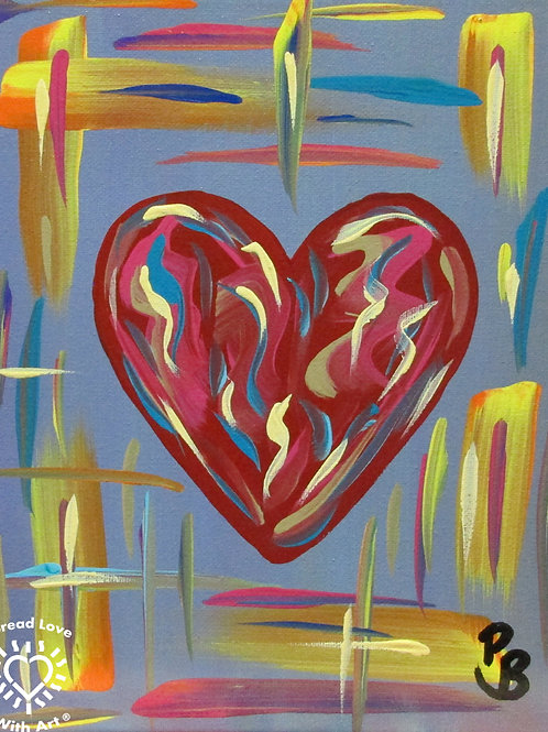 Heart Pastel Mini 3