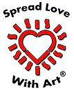 Spread Love With Art Logo