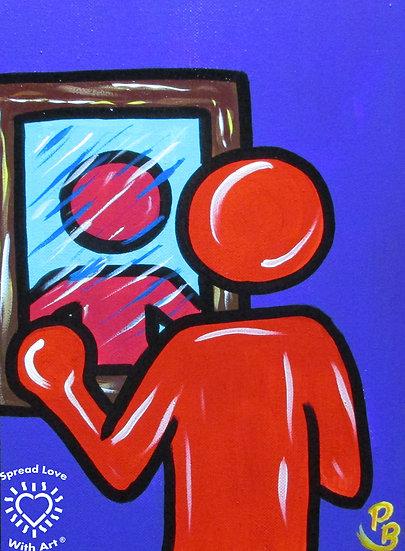 Person in the Mirror