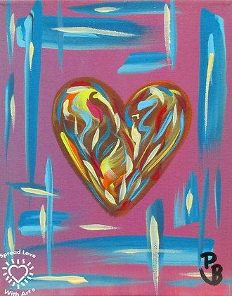 Heart Pastel Mini 1