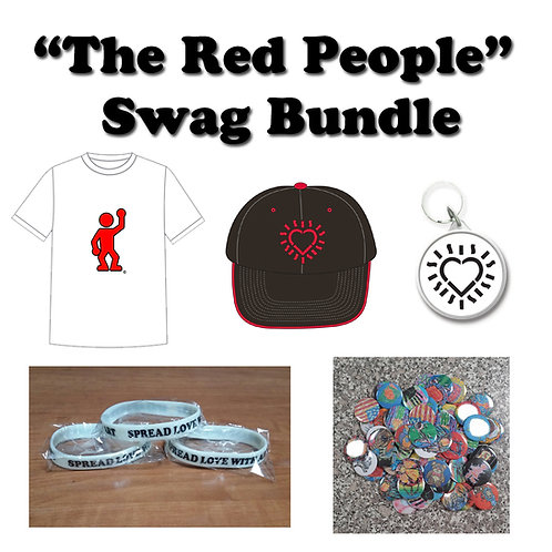 """The Red People"" Swag Bundle"