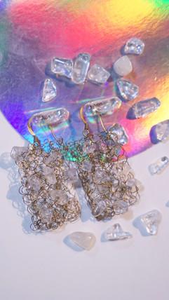 Vivian's Crystal Handmade Earings