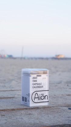 Aiōn at Santa Monica Beach