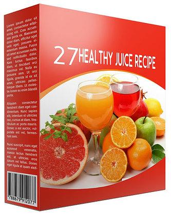 27 Healthy Juice Recipe