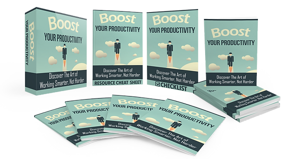 Boost Your Productivity Upgrade Package