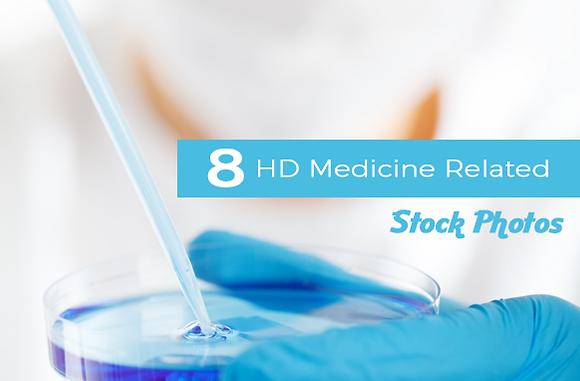 8 HD Medicine Related Stock Photos