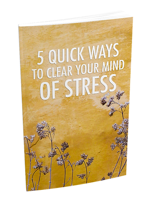 5 Quick Ways To Clear Your Mind Of Stress