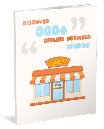 Discover 300+ Offline Business Words